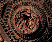 大觉寺内大雄宝殿的藻井