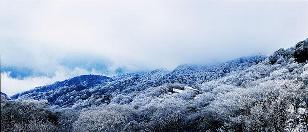 贵州梵净山风景区 高清图片