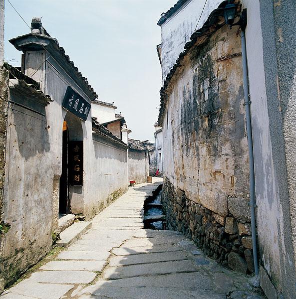 壁纸 风景 古镇 建筑 街道 旅游 摄影 小巷 593_600