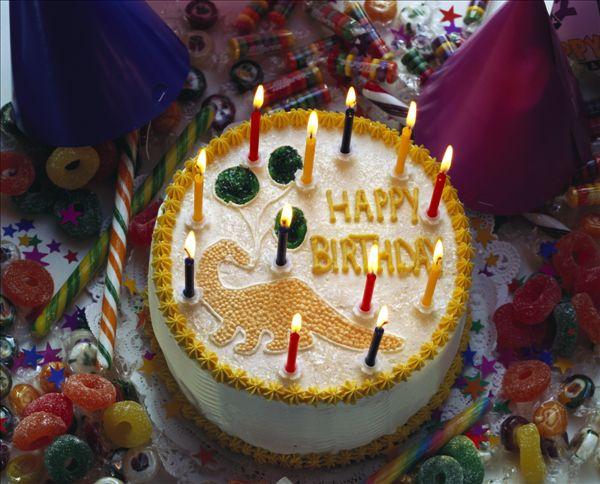 生日蛋糕儿童画优秀