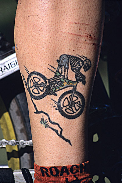 山地车,纹身,不列颠哥伦比亚省图片