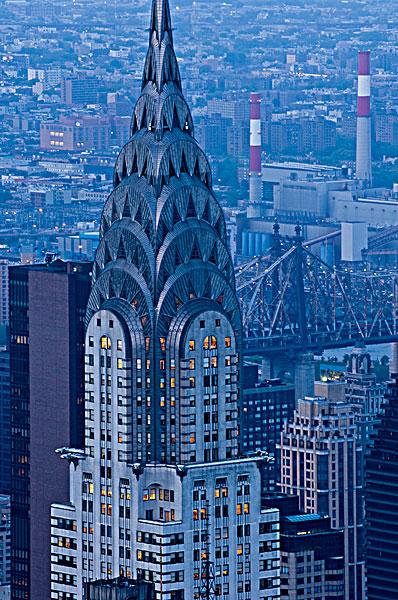 图片标题:克莱斯勒大厦,帝国大厦,纽约,美国