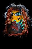 灵异,面具,爱人,第一,艺术家,西海岸,艺术,画廊,港口,北方,温哥华岛,不列颠哥伦比亚省,加拿大