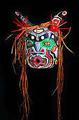面具,第一,国家,艺术家,西海岸,艺术,画廊,港口,北方,温哥华岛,不列颠哥伦比亚省,加拿大