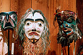 警惕,文化中心,面具,收集,不列颠哥伦比亚省,加拿大