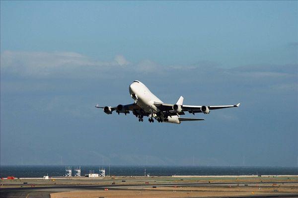 波音747,起飞