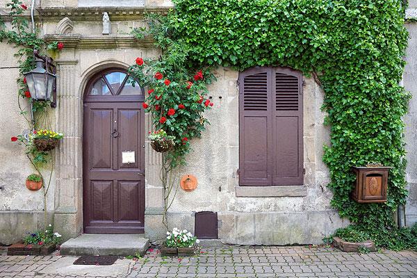 法国农村房子图片