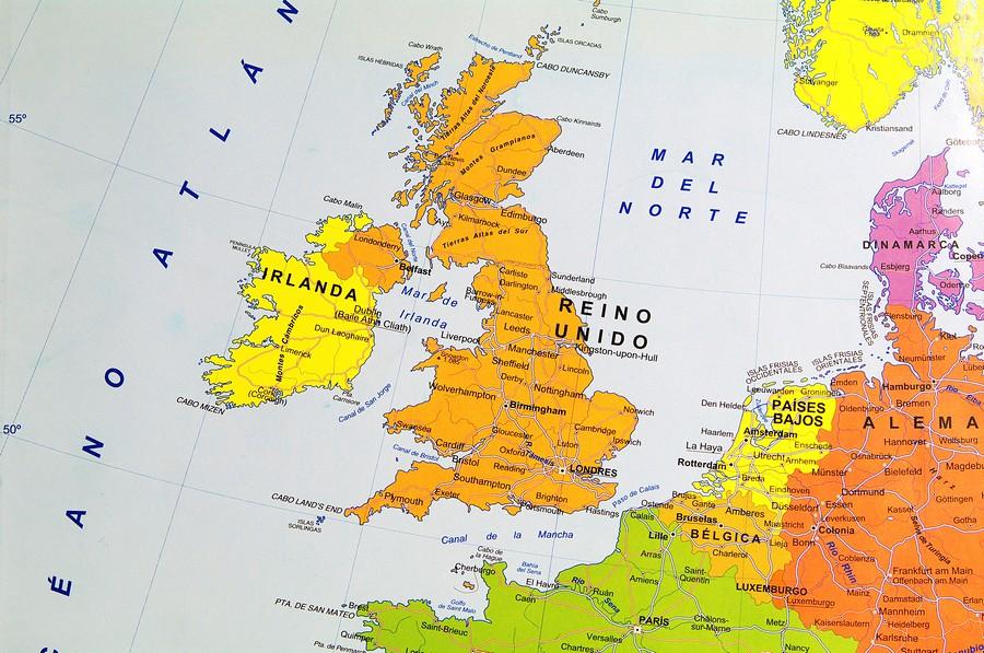 政治,地图,欧洲,区域,英国图片