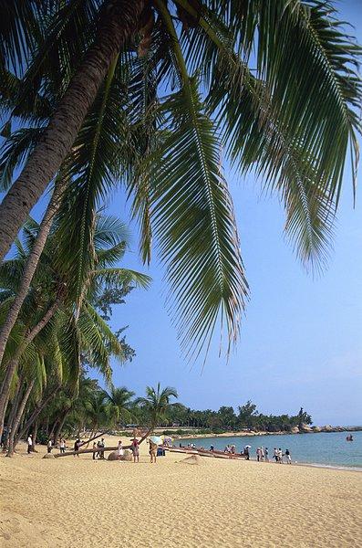 中国,海南岛,三亚,海滩风景,旅游