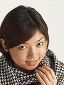 女人 黑白/女人,戴着,黑白,围巾,...下载相似预览购买...