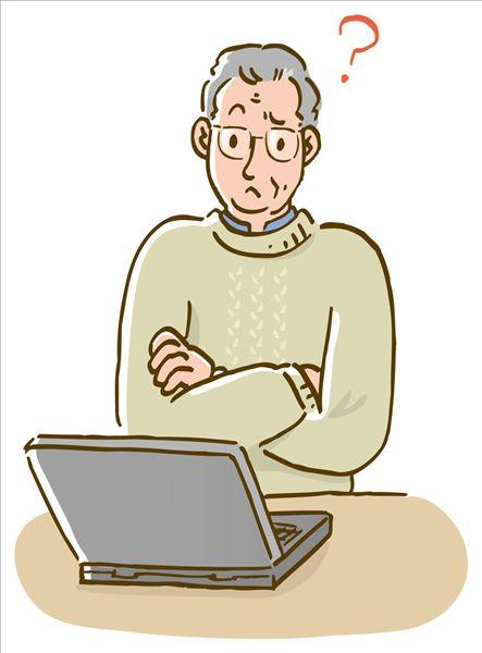 成熟,男人,麻烦,电脑,双臂交叉,正面