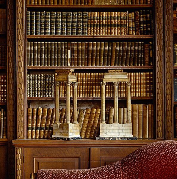古典,遗址,展示,石台,书架