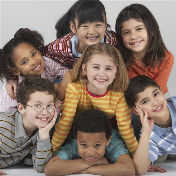 全景图片网:多种族 孩子