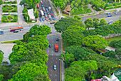 航拍,城市交通,新加坡