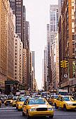 出租车,驾驶,城市街道,纽约,美国