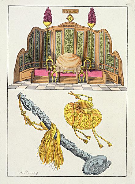 皇帝衣服的花纹卡通