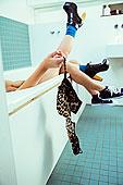 情侶,女人,胸罩,浴缸