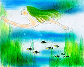 创意 海底/时尚插画、海底、水草...下载相似预览购买...