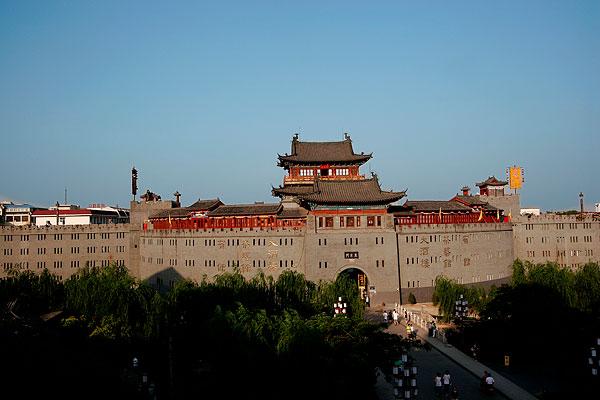 河南洛阳老城图片