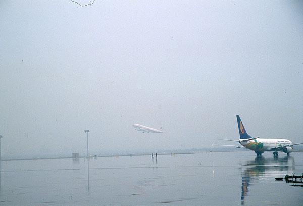 陕西西安咸阳机场飞机飞机场