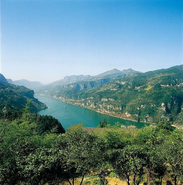 长江三峡西陵峡段风景