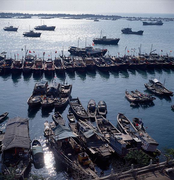 广东省汕尾市汕尾港渔船
