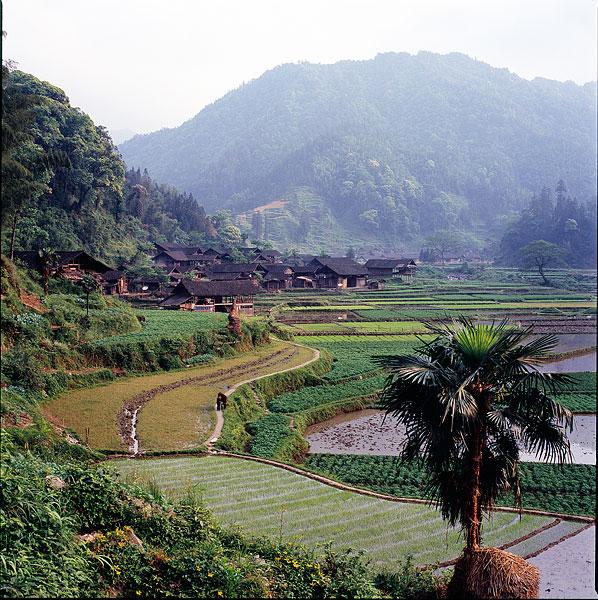 贵州梵净山风景区冷家坝