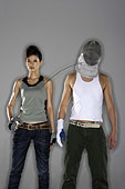 時尚體育運動擊劍