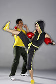 時尚體育運動拳擊