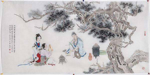 标题: 中国画工笔画 标签: 中国画,静物,绘画,室内,工笔画 描述: 中国画工笔画 英文描述: 图片编号: 171-1414 版权属性: 肖像权(不需要肖像权) 授权类型: 版权管理类(RM)图片 最大尺寸: 11M(RGB),2848x1420像素
