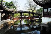 世界文化遗产苏州古典园林掘政园