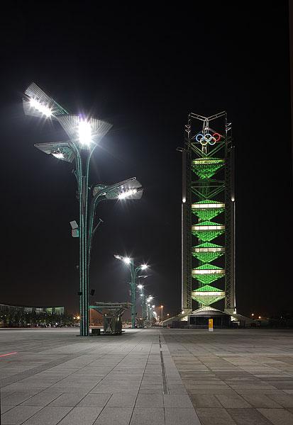 玲珑塔-北京奥运会转播塔