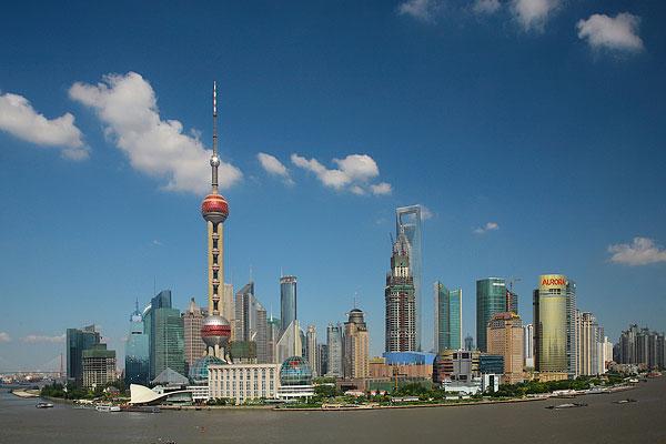 上海,外滩,浦东,东方明珠,陆家嘴,国际会议中心,金茂大厦,环球金融