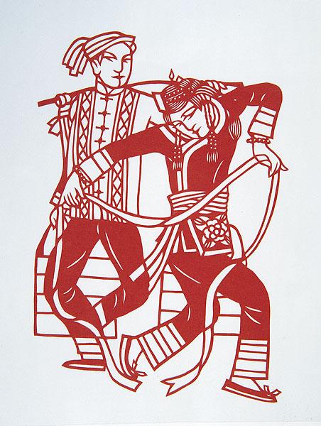 畲族的花纹图案