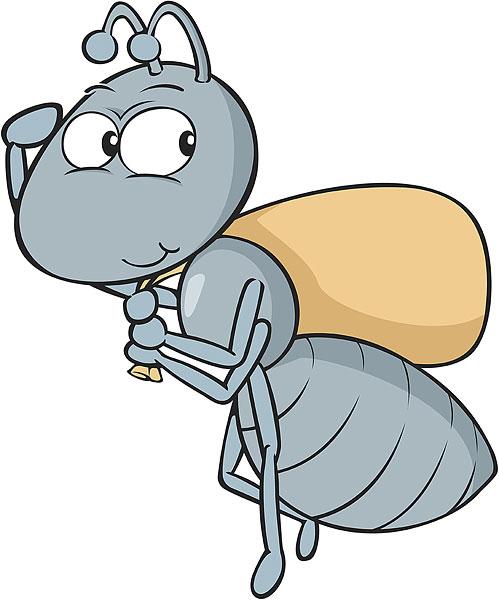 2014蚂蚁卡通矢量图