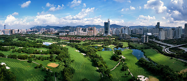 深圳香蜜湖高尔夫球场