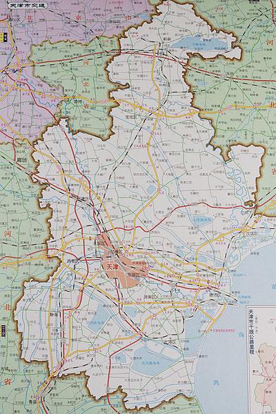 >天津地图