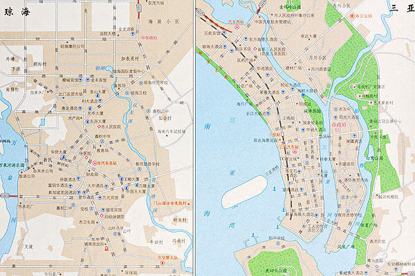 >广东地图  珠海三亚地图下载相似预览购买