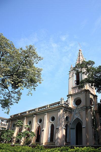 广州沙面岛教堂