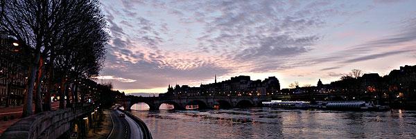 法国巴黎塞纳河高清图片
