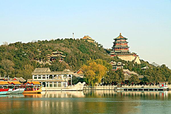 北京颐和园风光