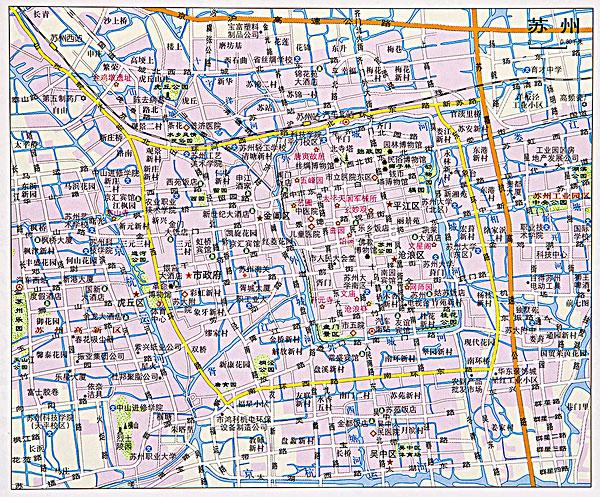 江苏地图_江苏地图图片