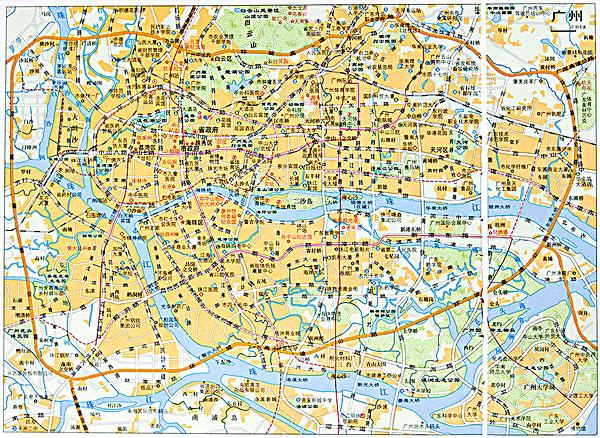 >广州地图