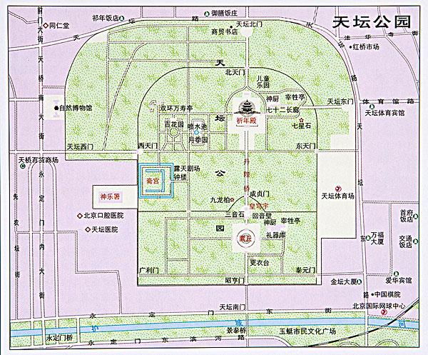 北京地图_北京地图图片