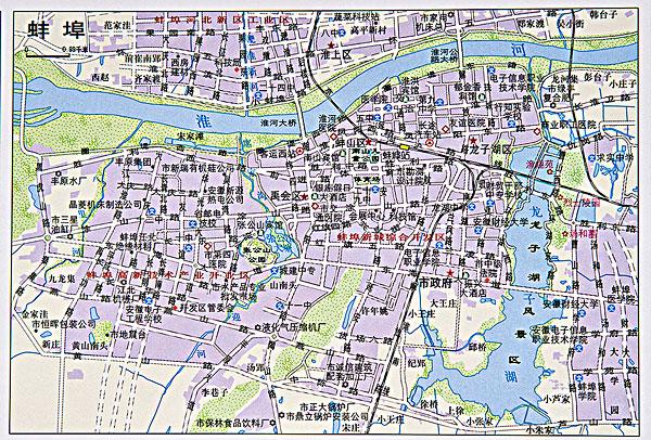 安徽蚌埠地图