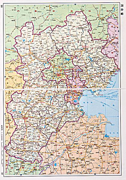 >河北地图