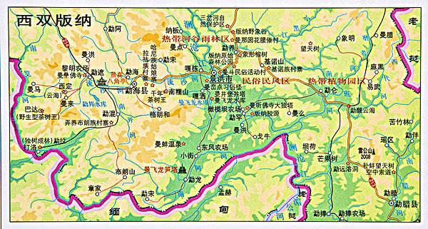 >云南地图