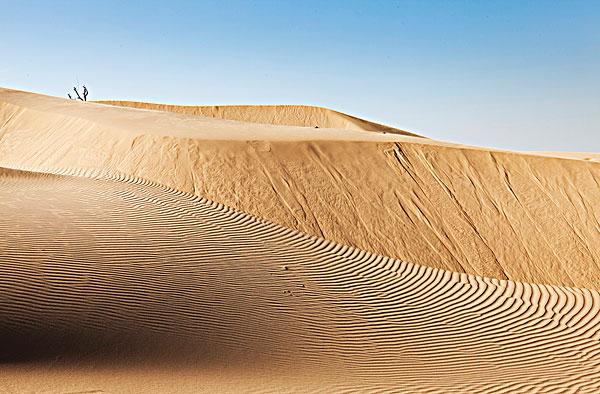 中国沙漠风景_全景图片