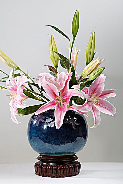 室内插花花瓶