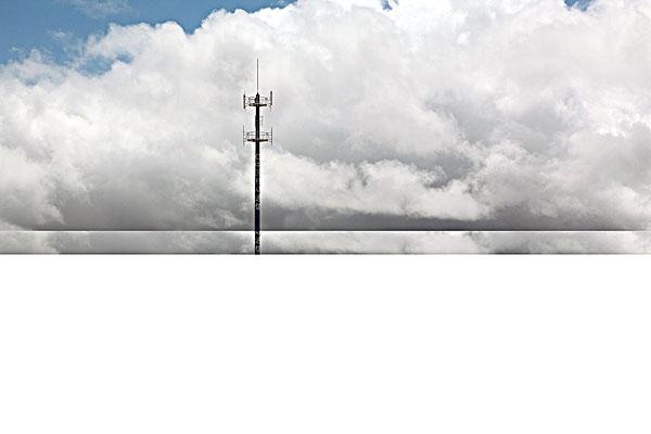 中国移动通信太阳能信号塔